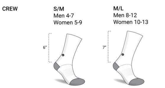 Bas Eazyvans - Guide des tailles / Eazyvans socks - Size guide
